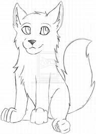 wolf pup cartoon drawings cute anime drawing easy unfinished sketch simple deviantart draw google pencil seies think skin going am