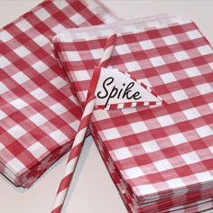 Hey, I found this really awesome Etsy listing at http://www.etsy.com/listing/82724897/24-red-gingham-party-favor-bags-paper