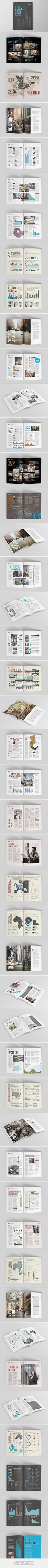 Knight Frank - Global Cities Report on Behance - created via https://pinthemall.net