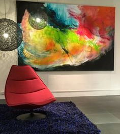 Artifort F 500 Chair (Geoffrey Harcourt, 1967) in combination with Moooi Lights!
