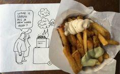 Frites Atelier Amsterdam: frites op sterrenniveau. Je zal ons niet snel in de snackbar vinden, maar van een heel bijzondere friteszaak kunnen wij zeker wel gelukkig worden! Naast in Den Haag, is nu ook in Utrecht de zaak Frites Atelier Amsterdam geopend, waar je op recept van sterrenchef Sergio Herman kan genieten van een haute cuisine frietje. Later dit jaar openen er nog zaken in Arnhem, Antwerpen en een flagshipstore in Amsterdam. Mooi, want wij zijn fan!