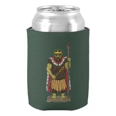 King Troll Can Cooler - kitchen gifts diy ideas decor special unique individual customized