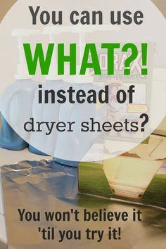 Ditch The Dryer Sheets The Static Cling Static Cling Homemade Dryer Sheets Fabric Softener Sheets