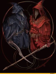 Ingward, DS characters, Dark Souls, fandoms, BloodBorne, Games, DS crossover, DS art, Eileen The Crow