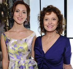 Eva Amurri and Susan Sarandon.