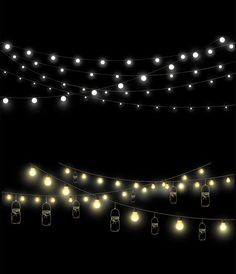Mason Jars and String Lights Clipart 3 Fairy Lights Clip Overlays Instagram, Instagram Photo Editing, Newborn Schedule, Church Stage Design, Light Clips, Overlays Picsart, Graphic Projects, Crisp Image, Party Lights