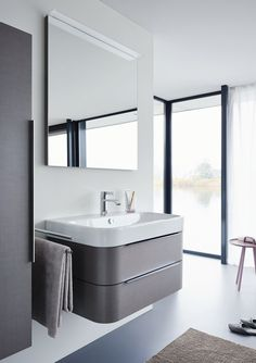 Duravit offers the various types of wash basin designs, bathroom sinks, wash-hand basins for your modern and comfortable bathroom. Find the luxurious wash basin & wash bowl at a Duravit. Complete Bathrooms, Dream Bathrooms, Modern Vanity, Modern Bathroom, Contemporary Vanity, Bathroom Vanity Designs, Bathroom Vanities, Decorating A New Home, Wc Sitz