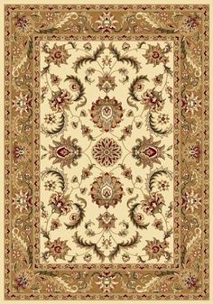 Traditional Area Rug, Royal Treasure Brown 7'8'x10'4 *** Special  product just for you. See it now! (This is an amazon affiliate link. I may earn commission from it)