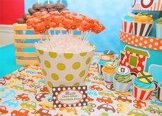 Una fiesta infantil llena de color