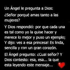 Un Angel le pregunta a Dios