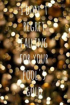 fool's gold lyrics