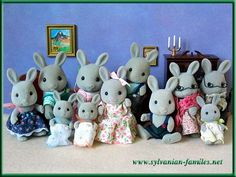 sylvanian familes...the babblebrook family lived in my daughters doll house...so cute