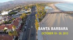 Ian Boyd flying his DJI Phantom over Santa Barbara. GoPro Hero 3+ Mounted in a Zenmuse H3-2D gimbal mount.