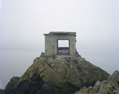 Landscape as a Witness to War by Marc Wilson Along European coastline, unintentional monuments to past conflicts still stand. Built to keep foreign forces out during WWII. Last Stand, Lost, No Photoshop, Second World, British Isles, Far Away, Abandoned Places, Abandoned Buildings, World War Two