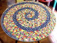 Como Fazer Mosaico com Azulejo