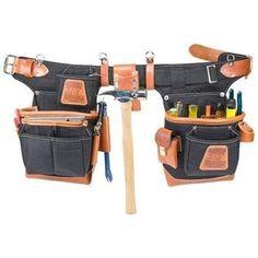Occidental Leather 9850 Adjust-to-Fit FatLip Tool Belt Set - Black Cinturon  De ee1f73561f40