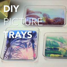 DIY Instagram Photo Trays