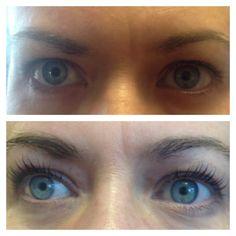 Lifting lashes opens up the eyes making lashes visibly longer