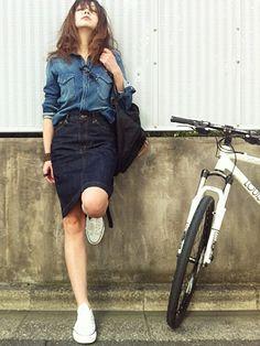 この画像は「スニーカー女子必見!ブランド別!この夏使えるスニーカーコーデ特集。」のまとめの22枚目の画像です。