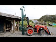 Tractor Implements, Compact Tractors, Fence, Homemade, Youtube, Tools, Home Made, Youtubers, Hand Made