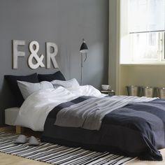 Lär dig mer om gråa väggfärger - Shades of Grey Teen Bedroom, Master Bedroom, Bedroom Ideas, Bedrooms, Jotun Lady, Lady Grey, Shades Of Grey, Home Living Room, Color Inspiration