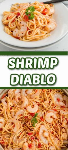 Love things spicy? This easy shrimp diablo is filled with flavor and spice! Saucy and spicy is the perfect description for this one pot meal!
