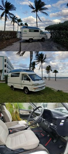 nice 1991 Toyota Townace 4wd Camper