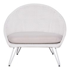 Cantina Lounge Chair White