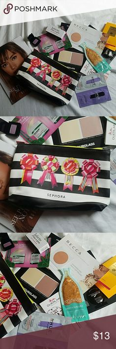 Sephora Bag with Samples! Brand new! Come ls with bag full of goodies (11 samples) all from sephora Sephora Makeup Eyeshadow