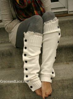 .Ankle warmers. #fall
