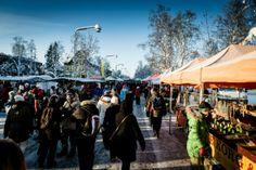 Der traditionelle Wintermarkt in #Jokkmokk in #SchwedischLappland - http://www.nordicmarketing.de/nacht-im-schneeball-auf-wintermarkt/