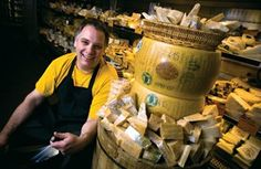 Gordon Edgar, Cheesemonger at the amazing Rainbow Grocery Cooperative, located in San Francisco