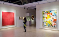 5 October marks the last day for #hongkong followers to view highlights from the Taubman Collection at the Hong Kong Convention & Exhibition Centre including the works by Frank Stella and Willem de Kooning pictured here.  Next stop on the #taubmanatsothebys tour: London Frieze Week! Opening Saturday the 10th in our New Bond Street galleries.