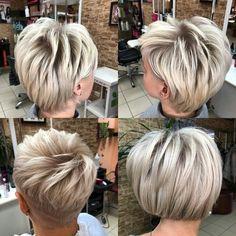 Short Hair Cuts, Short Hair Styles, Salons, Hairstyles, Haircut Medium, Bob Styles, Haircuts, Short Hairstyles, Lounges