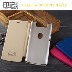 Italy High Quality Leather Case For OPPO N3 N5207 Case Flip Cover For OPPO N3 N 5207 Case Phone Cover 3 Color In Stock