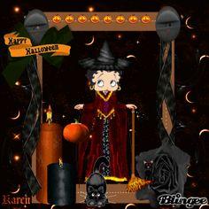 Betty Boop: Halloween Witch