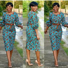 Top 30 Unique Ankara Styles in Vogue - Ankara collections brings the latest high street fashion online African Print Dresses, African Dresses For Women, African Attire, African Wear, African Fashion Dresses, Ankara Fashion, African Style, African Fashion Designers, African Print Fashion
