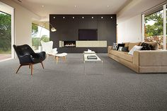 Classic Australian, Grant Featherston mid-century furniture is right at home in … – Grey Carpet Round Carpet Living Room, Round Carpets, Home, Living Room Carpet, Room, Bedroom Carpet, Century Furniture, Kitchen Carpet, Furniture