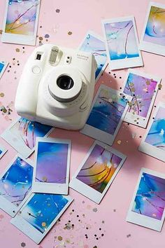Fujifilm Instax Mini 8 Instant Camera $70 UrbanOutfitters.com: Awesome stuff for you & your space