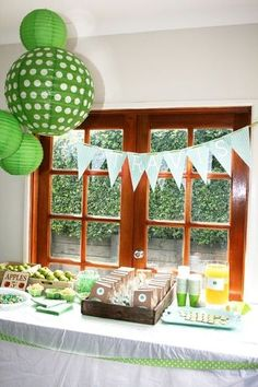 Earth Day party inspiration! #HappyEarthDay
