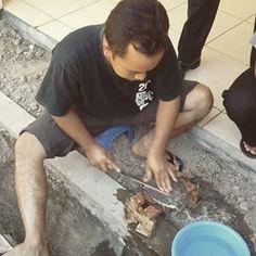 Pembuatan Canting Cap di Balai Besar Kerajinan dan Batik.