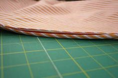 In-Seam Pockets with French Seams: Sewing with Deborah Moebes | Sew Mama Sew | Outstanding sewing, quilting, and needlework tutorials since 2005.