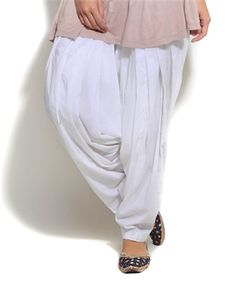 White Patiala Salwar view more amazing patiala pants