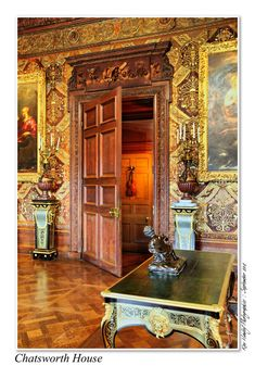 chatsworth house the violin door is a trompe lil fool the - Multi Castle Interior