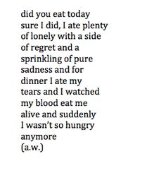 loneliness poems - Google Search