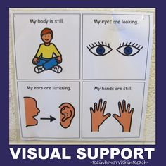 1000 Images About Preschool Visual Supports On Pinterest