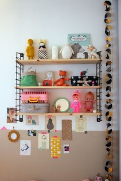 Children's room - String shelf - Emilie sans Chichi