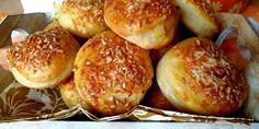 Úžasné tvarohové pagáčiky - Tinkine recepty Pretzel Bites, Hamburger, Bread, Food, Basket, Brot, Essen, Baking, Burgers
