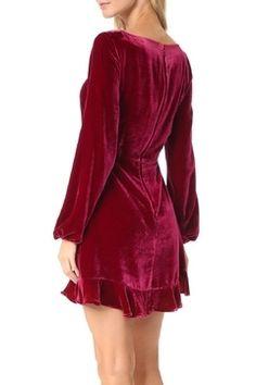 731de1d21445 FOR LOVE & LEMONS Velvet Mini Dress - Alternate List Image