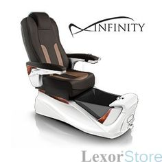 Infinity Spa_ Pedicure Chairs for Nail salons. This has a futuristic style to it. love it!